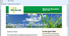 Mijn Gemak e-mail marketing