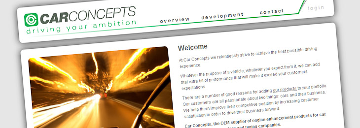 CarConcepts corporate website